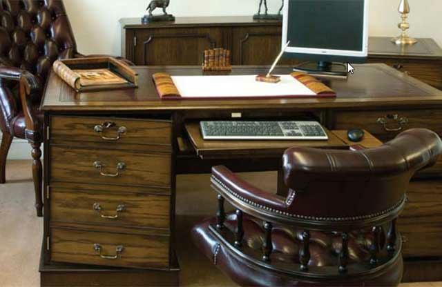 The Desk Centre Uk English, Traditional Office Furniture Sets