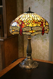 DC194 Grapes, Table Lamp. Height 60cm. Width 43cm.